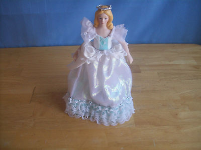 1989 Avon Fairy Princess Doll With Stand