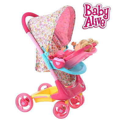 New Baby Alive Doll Stroller Travel System Model:20817690