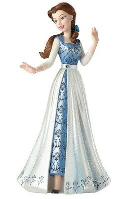 Disney Showcase Couture de Force Beauty and the Beast Belle in Blue Dress Statue