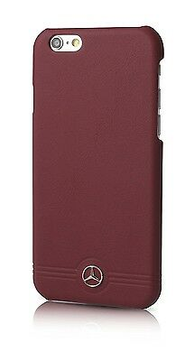 Mercedes Benz Genuine Leather Case for iPhone 6 / 6S / Red / MEHCP6EMSRE