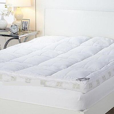 """Concierge Collection Ultimate Pillowtop 6"""" Featherbed NEW"""