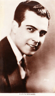 Ramon Novarro Vintage Movie Real Photo Picture Postcard