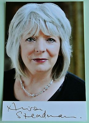Alison Steadman Hand Signed Autograph Official Photo Card Gavin & Stacey & Coa