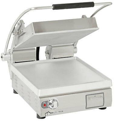 "Star PST14T Pro-Max 14"" Panini Grill Smooth Alum. Plate Electronic Timer"