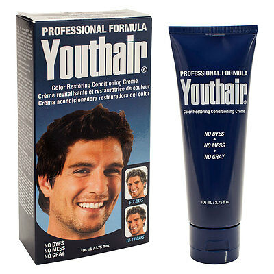 Youthhair Color Restoring Conditioning Hair Creme Lead and Dye-Free 3.75oz