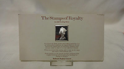 1977 The Stamps Of Royalty Sterling Silver Postage Stamp - No 7 - 10/