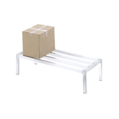 """Channel Manufacturing Aluminum Dunnage Rack 60"""" x 24"""" Tubular Construction"""