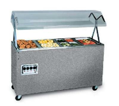 Vollrath T38732 4 Well Granite Portable Hot Food Steam Table w/ Storage