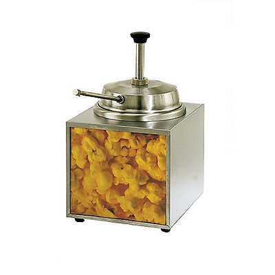 Star 3WLA-B 3.5 qt Stainless Steel Countertop Butter Heated Dispenser