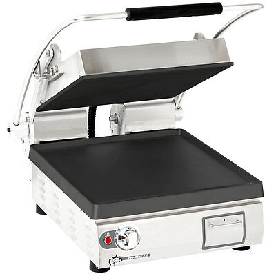 Star PST28I Pro-Max Electric Panini Grill Cast Iron/Smooth Dial Control