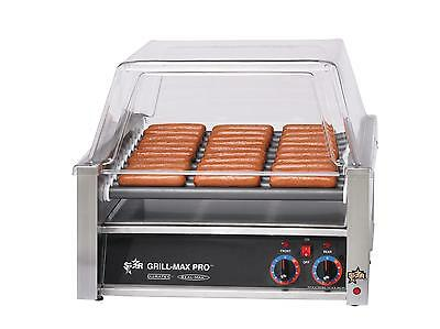 Star 30SC Infinite Control 30 Hot Dog Roller Grill w/ Duratec Rollers
