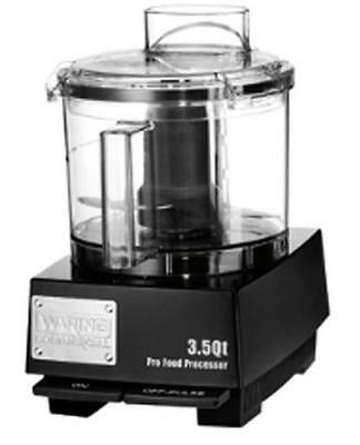 Waring WFP14SW 3.5 Quart Food Processor with S-Blade and Whipping Disc