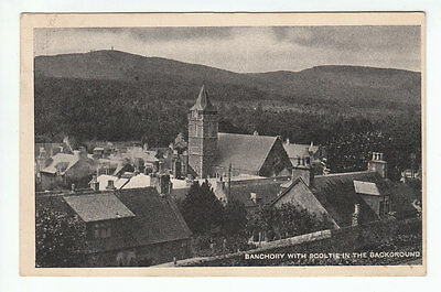 Banchory With Scolty Scoltie In Background Early 1900's Ingram Hardgate Aberdeen