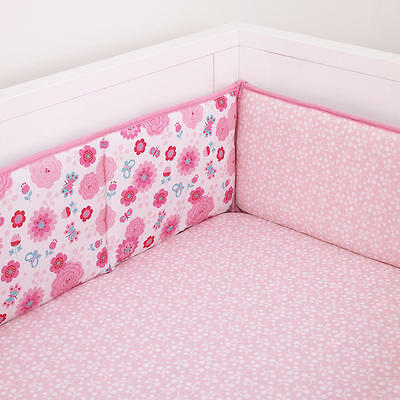 New Disney Minnie Mouse Secure-Me Crib Bumper Model:24732098