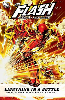 the flash the fastest man alive: lightning in a bottle  tpb 2007 dc comics