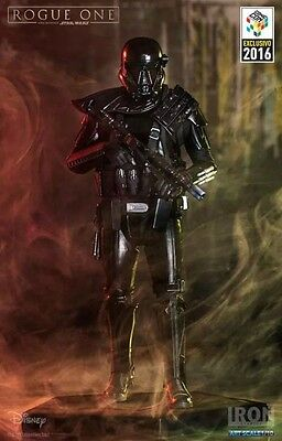 Iron Studios Star Wars Rogue One Death Trooper Art Scale CCXP Exclusive Statue