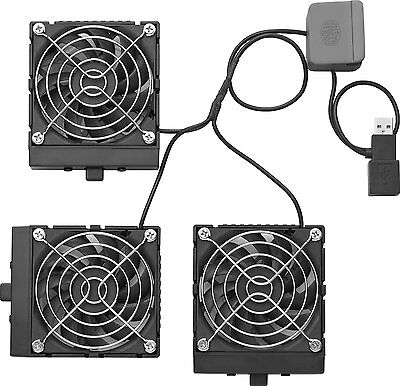 Cooler Master Notepal U3/u3 Plus Notebook Cooler Fans. New