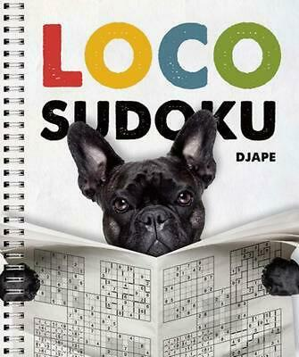 Loco Sudoku by Djape (English) Spiral Book Free Shipping!