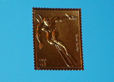 Silver Surfer Gold Edition USPS Stamp Uncirculated Proof Marvel United States