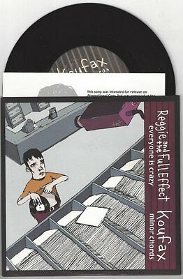 """Reggie and the Full Effect/Koufax """"split"""" 7"""" OOP Get Up Kids My Chemical Romance"""