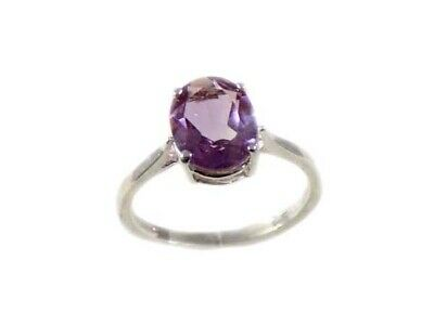 Antique 19thC 2ct Scotland Amethyst Medieval Roman Catholic Bishop Celibacy Ring