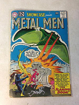 METAL MEN in SHOWCASE #37, 1ST APPEARANCE, SUPER KEY ISSUE, FLAMING DOOM, 1962