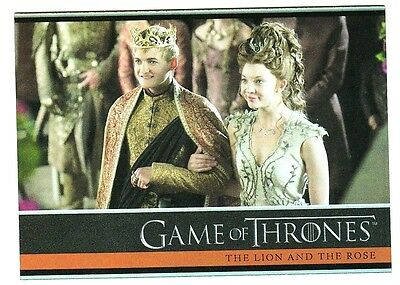 Game Of Thrones Season 4 Foil Parallel Base Card 5