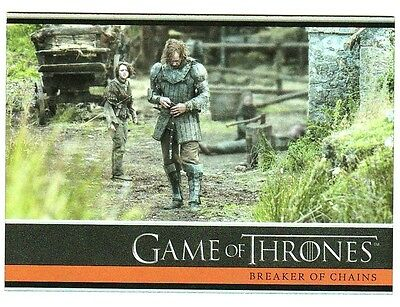 Game Of Thrones Season 4 Foil Parallel Base Card 7