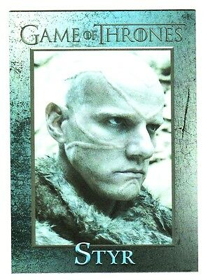 Game Of Thrones Season 4 Foil Parallel Base Card 83