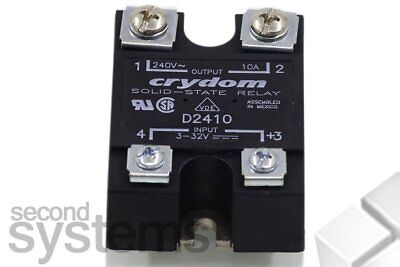 Electronic Load relays Series 1 Crydom D2410 Last torrent 10 A Switching voltage