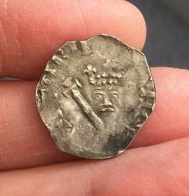 Henry Ii (1154-1189). Silver Penny. 'tealby' Coinage.