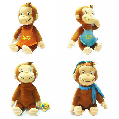 30 cm CURIOUS GEORGE PLUSH DOLL MONKEY PLUSH TOY CLASSIC FASHION TOY PLUSH
