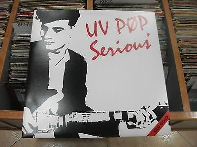 """UV Pop – Serious  ' 12"""" MINT OLD GOLD"""