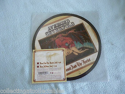 """Avenged Sevenfold – Beast And The Harlot  7"""" Vinyl Picture Disc"""