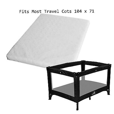 """New 3"""" Mattress For Travel Cot 104x71"""