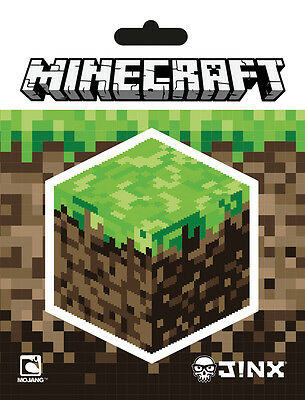 2er Vinyl Sticker Set / Aufkleber - MINECRAFT - Block (Game) - 223 NEU
