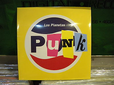 Los Planetas ‎– Punk ' 7'' MINT & SEALED 2015 LIMITED EDITION