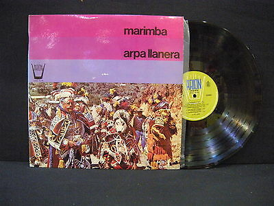Marimba ' Arpa Llanera ' Lp Mint Spain 1977
