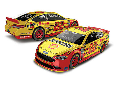 Joey Logano #22 Pennzoil 2017 1/24 Action Diecast Car Free Ship 1168 Made