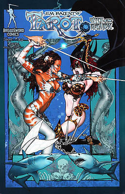 Tarot Witch of the Black Rose 70a Broadsword Jim Balent sexy NM FREE UK POST