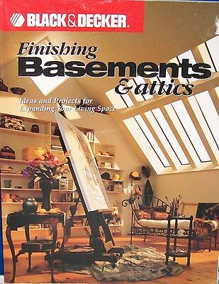 """FINISHING BASEMENTS & ATTICS"" Ideas & Projects for expanding living space"