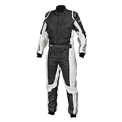 Alpinestars GP Tech Racing Suit SFI 3.2A Rated, Silver/White, Euro Size 50