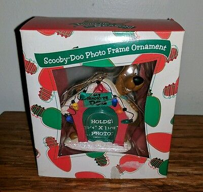 Warner Bros. Store Exclusive Scooby Doo FAVORITE DOG Photo Frame Ornament 1999