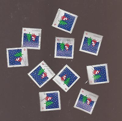 Canada 2016 Christmas  Santa (P) 10 Used Stamps