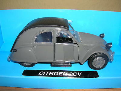 NewRay Citroen 2CV / 2 CV Duck gray gray 1:32 Model railway 1 gauge