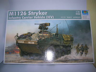 Trumpeter M1 126 Stryker Infantry Carrier Vehicle (ICV) 1:35 Kit 00375