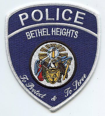 BETHEL HEIGHTS ARKANSAS AR To Protect & To Serve POLICE PATCH