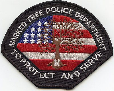MARKED TREE ARKANSAS AR To Protect And Serve POLICE PATCH