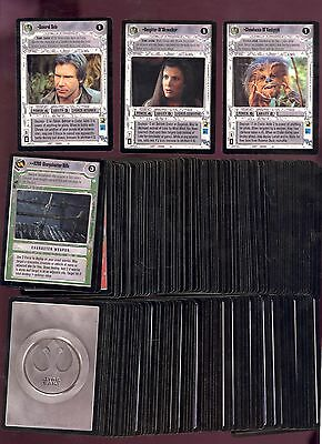 Star Wars Endor Complete Set 180 Cards Near Mint Unplayed Decipher Comic Kings
