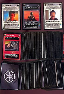 Star Wars Cloud City Complete Set 180 Cards Nm Unplayed Decipher Comic Kings